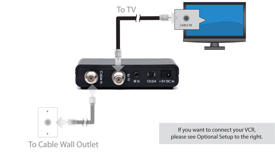 Conway Corporation: Installing your digital television adapter (DTA)